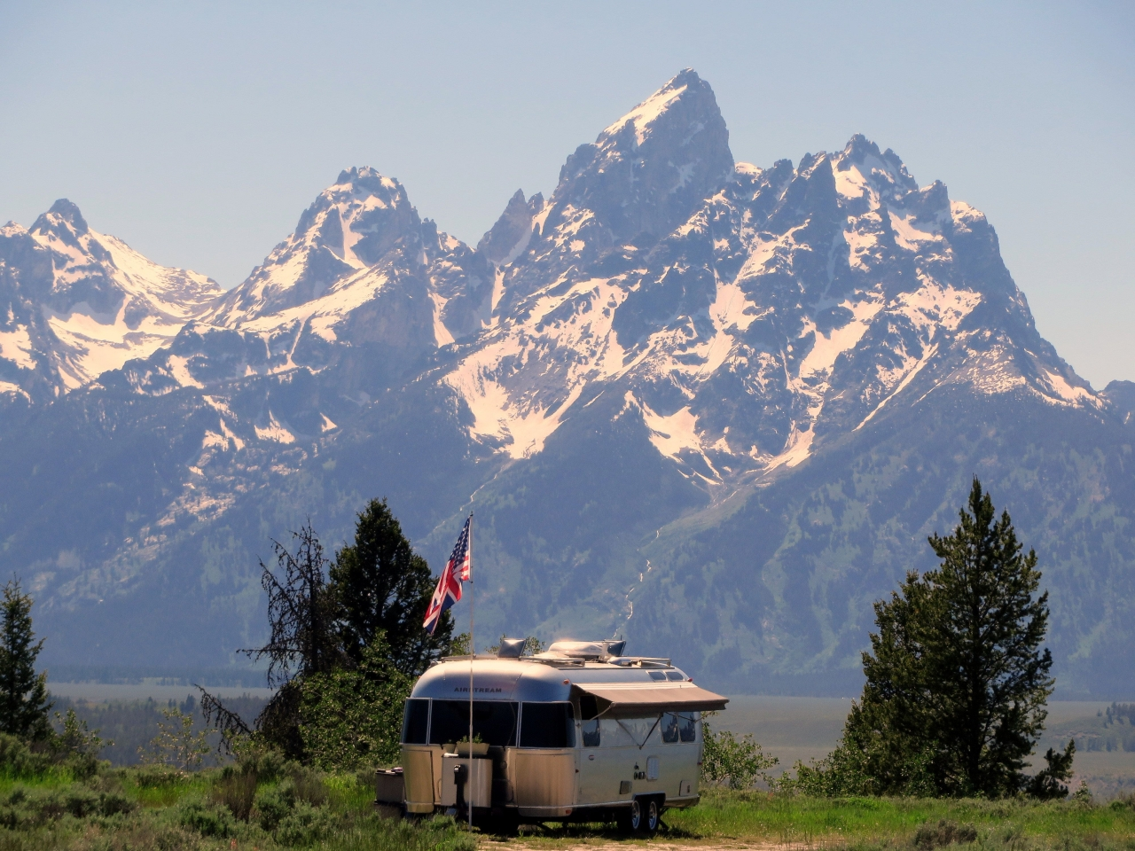 Airstream Grand Tetons Wyoming