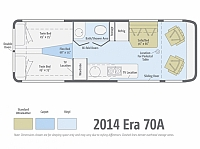 2016 WINNEBAGO ERA 70A #23950