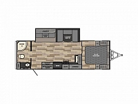 2017 WINNEBAGO MINNIE PLUS 26RBSS #24175