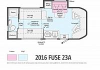 2018 WINNEBAGO FUSE 23A #24271