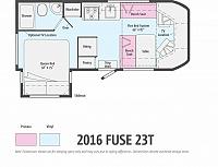 2017 WINNEBAGO FUSE 23T #24143