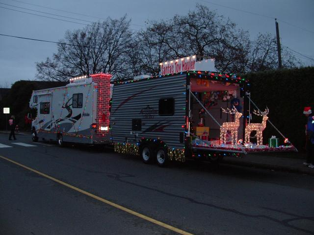 triangle christmas rv parades