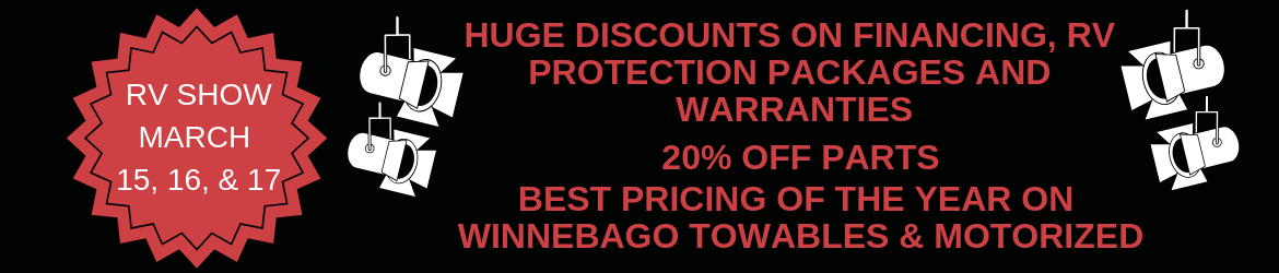 HUGE DISCOUNTS ON FINANCING, RV PROTECTION PACKAGES AND WARRANTIES copy.png